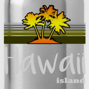 hawaii island 122.png T-Shirts - Water Bottle