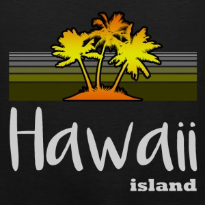 hawaii island 122.png T-Shirts - Men's Premium Tank
