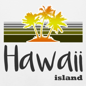 hawaii island 127182.png T-Shirts - Men's Premium Tank