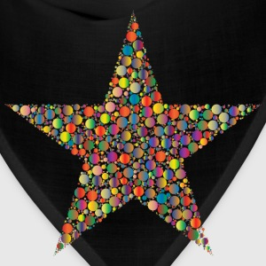 Colorful Circles Star 4 - Bandana