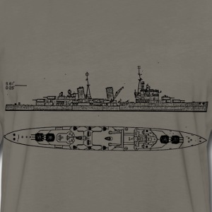 Belfast Battleship - Men's Premium Long Sleeve T-Shirt