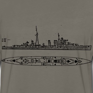 CclCLAA Battleship - Men's Premium Long Sleeve T-Shirt