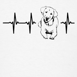 My heart beats for dogs Caps - Men's T-Shirt