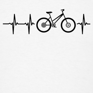 My heart beats for bicycles Caps - Men's T-Shirt