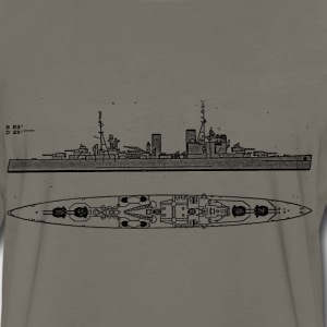 London Battleship - Men's Premium Long Sleeve T-Shirt