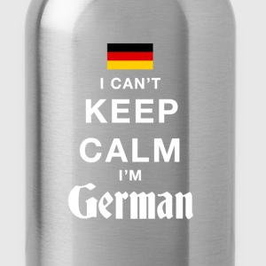 I CAN'T KEEP CALM - i'am german T-Shirts - Water Bottle