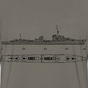 gerddtype36 Battleship - Men's Premium Long Sleeve T-Shirt