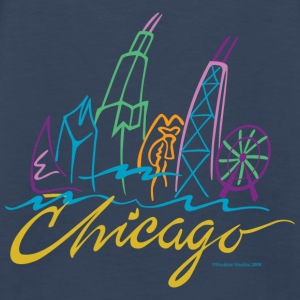 Chicago - Men's Premium Long Sleeve T-Shirt