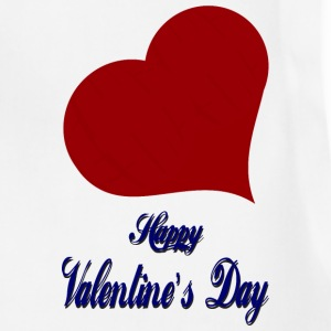 Happy-Valentines Day-heart-love - Adjustable Apron