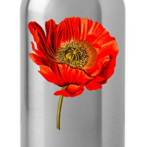 Opium poppy 2 (detailed) - Water Bottle