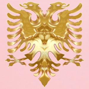 Golden Double Headed Eagle - Kids' Hoodie