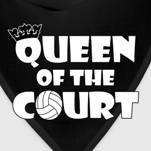 Queen of the Court Women's Volleyball T-shirt - Bandana