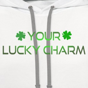 LUCKY CHARM T-Shirts - Contrast Hoodie