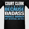 Court Clerk Tshirt - Men's T-Shirt