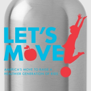 let's Move - Water Bottle