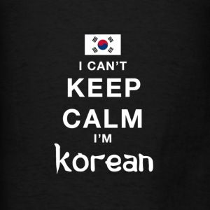 I CAN'T KEEP CALM - i'am south korea Hoodies - Men's T-Shirt
