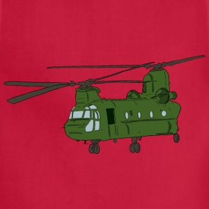 Chinook Helicopter 1 - Adjustable Apron