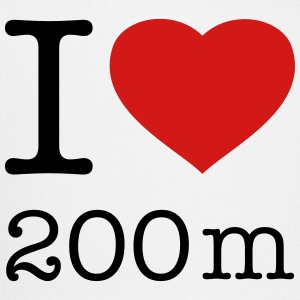 I LOVE 200 m - Trucker Cap