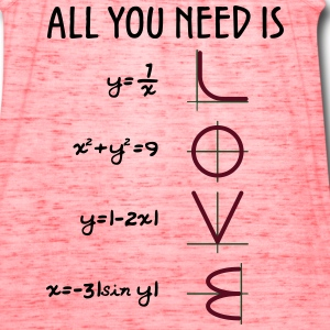 All you need is love (Equations) - Women's Flowy Tank Top by Bella