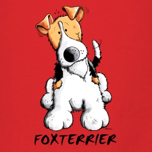 Happy Fox terrier Bags & backpacks - Men's T-Shirt