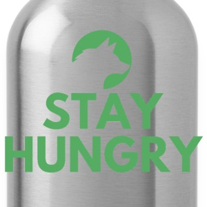 Stay hungry Project Wolfpack - Water Bottle