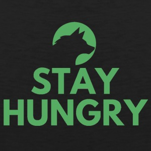 Stay hungry Project Wolfpack - Men's Premium Tank