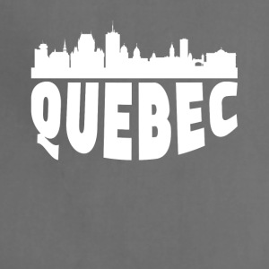 Quebec Canada Cityscape Skyline - Adjustable Apron