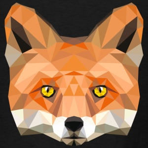 fox head low poly animal illustration art wilderne Tanks - Men's T-Shirt