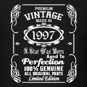Vintage made in 1997 Caps - Men's T-Shirt