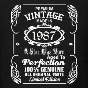 Vintage made in 1987 Caps - Men's T-Shirt