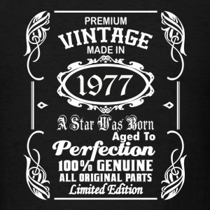 Vintage made in 1977 Caps - Men's T-Shirt