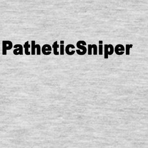 PatheticSniper logo - Men's Premium Long Sleeve T-Shirt
