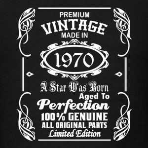 Vintage made in 1970 Caps - Men's T-Shirt