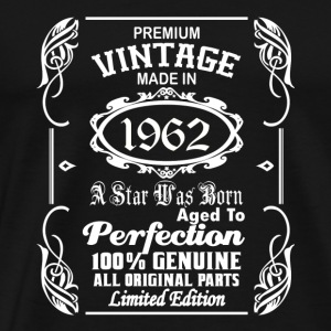 Vintage made in 1962 Caps - Men's Premium T-Shirt