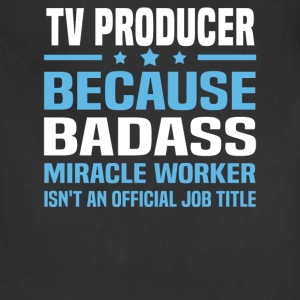 TV Producer Tshirt - Adjustable Apron
