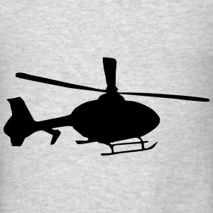 Helicopter Hoodies - Men's T-Shirt