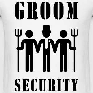 Groom Security (Bachelor Party / Stag Night) Sportswear - Men's T-Shirt