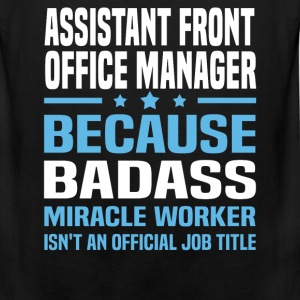 Assistant Front Office Manager Tshirt - Men's Premium Tank