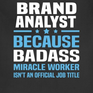 Brand Analyst Tshirt - Adjustable Apron