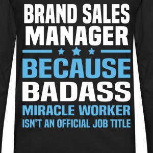 Brand Sales Manager Tshirt - Men's Premium Long Sleeve T-Shirt