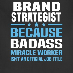 Brand Strategist Tshirt - Adjustable Apron