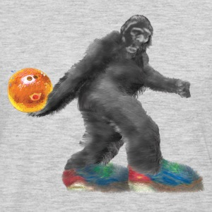 BIGFOOT Bowling!!!   - Men's Premium Long Sleeve T-Shirt