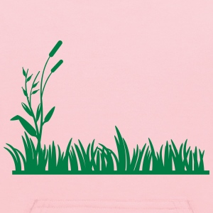 grass background - Kids' Hoodie