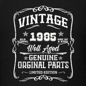 Vintag 1985 Caps - Men's T-Shirt