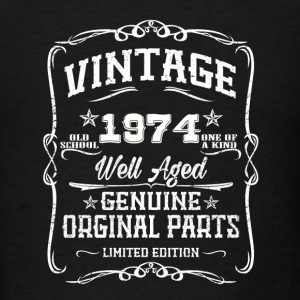 Vintage 1974 Caps - Men's T-Shirt