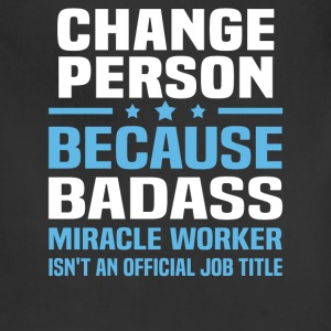 Change Person Tshirt - Adjustable Apron