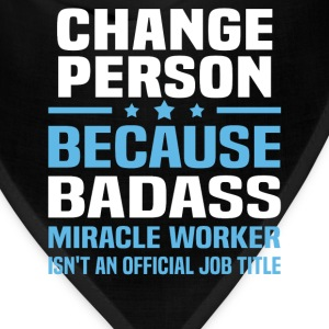 Change Person Tshirt - Bandana