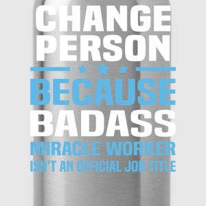Change Person Tshirt - Water Bottle