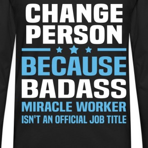 Change Person Tshirt - Men's Premium Long Sleeve T-Shirt