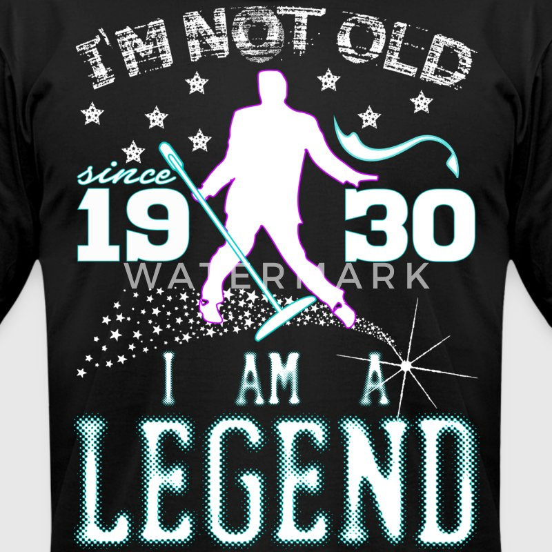 I AM A LEGEND-1930 T-Shirts - Men's T-Shirt by American Apparel